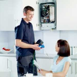 central heating services, property restoration services